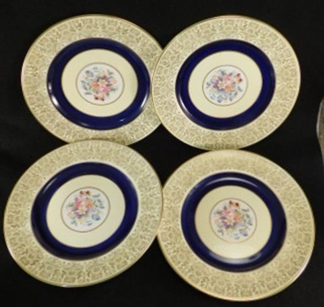 SCARCE PAREEK JOHNSON BROS ENGLAND SET OF 4 PLATES (Yes, We Ship)