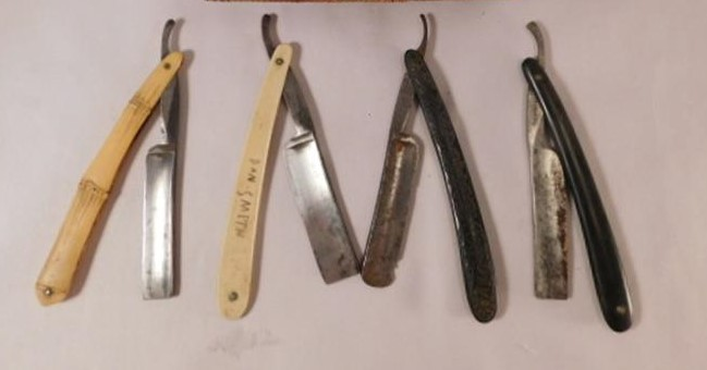 STRAIGHT RAZORS VINTAGE ADVERTISING EMPEROR SOLINGEN THE BONANZA (Yes, We Ship)