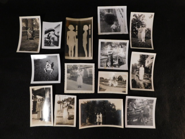 ANTIQUE VINTAGE BLACK AND WHITE PHOTOS (Yes, We Ship)
