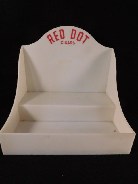 RED DOT CIGARS DISPLAY BOX ADVERTISING (Yes, We Ship)