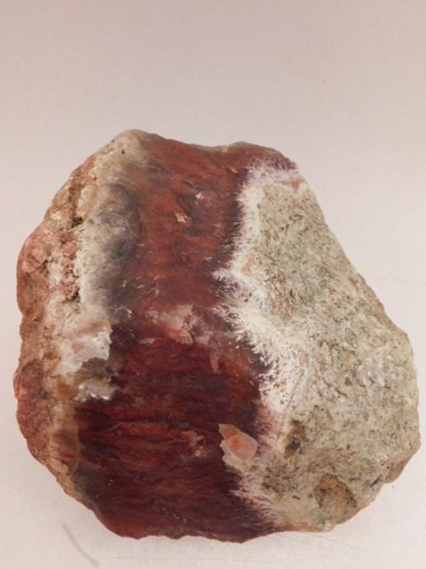 FLAME PLUME AGATE ROCK STONE LAPIDARY SPECIMEN