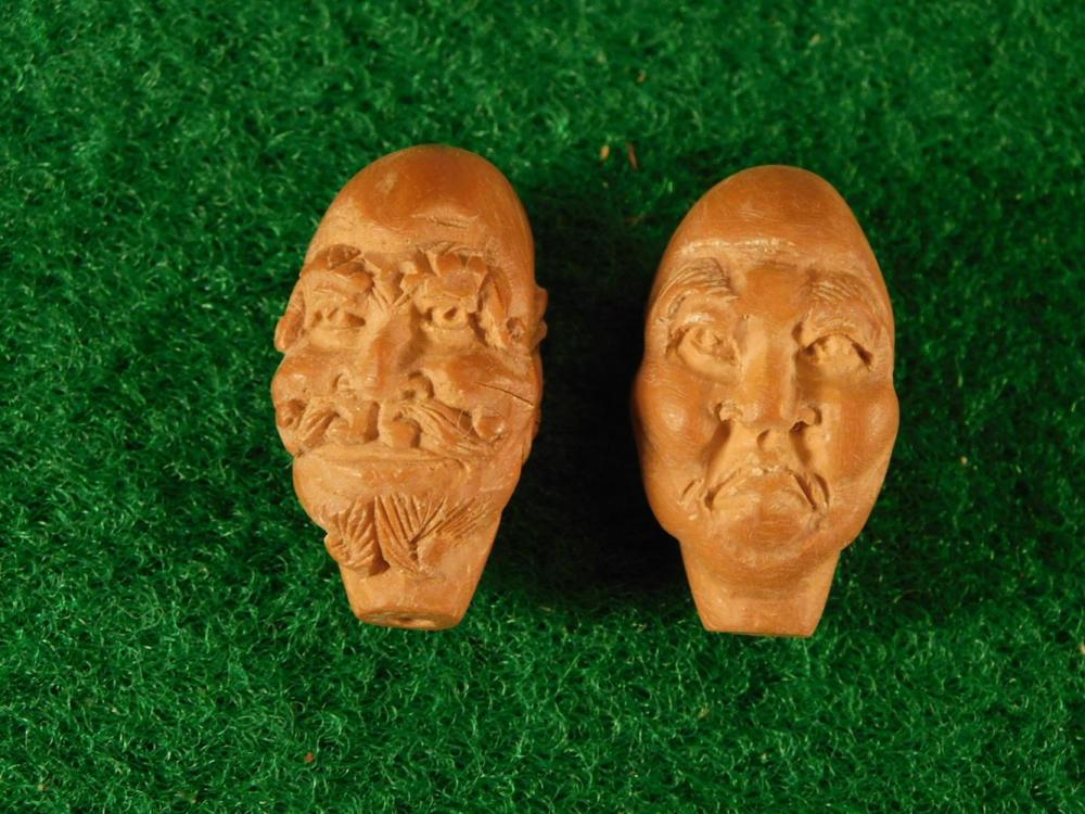 VINTAGE CARVED ASIAN BEAD