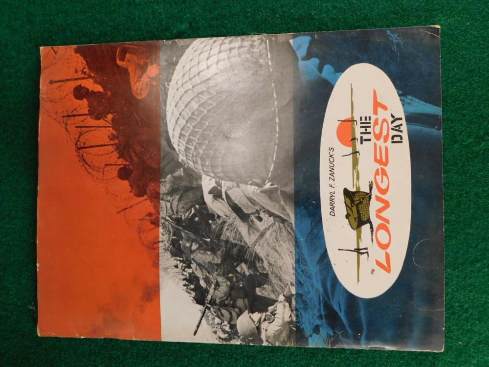 DARRYL ZANUCK'S THE LONGEST DAY BOOK ANTIQUES AND COLLECTIBLES