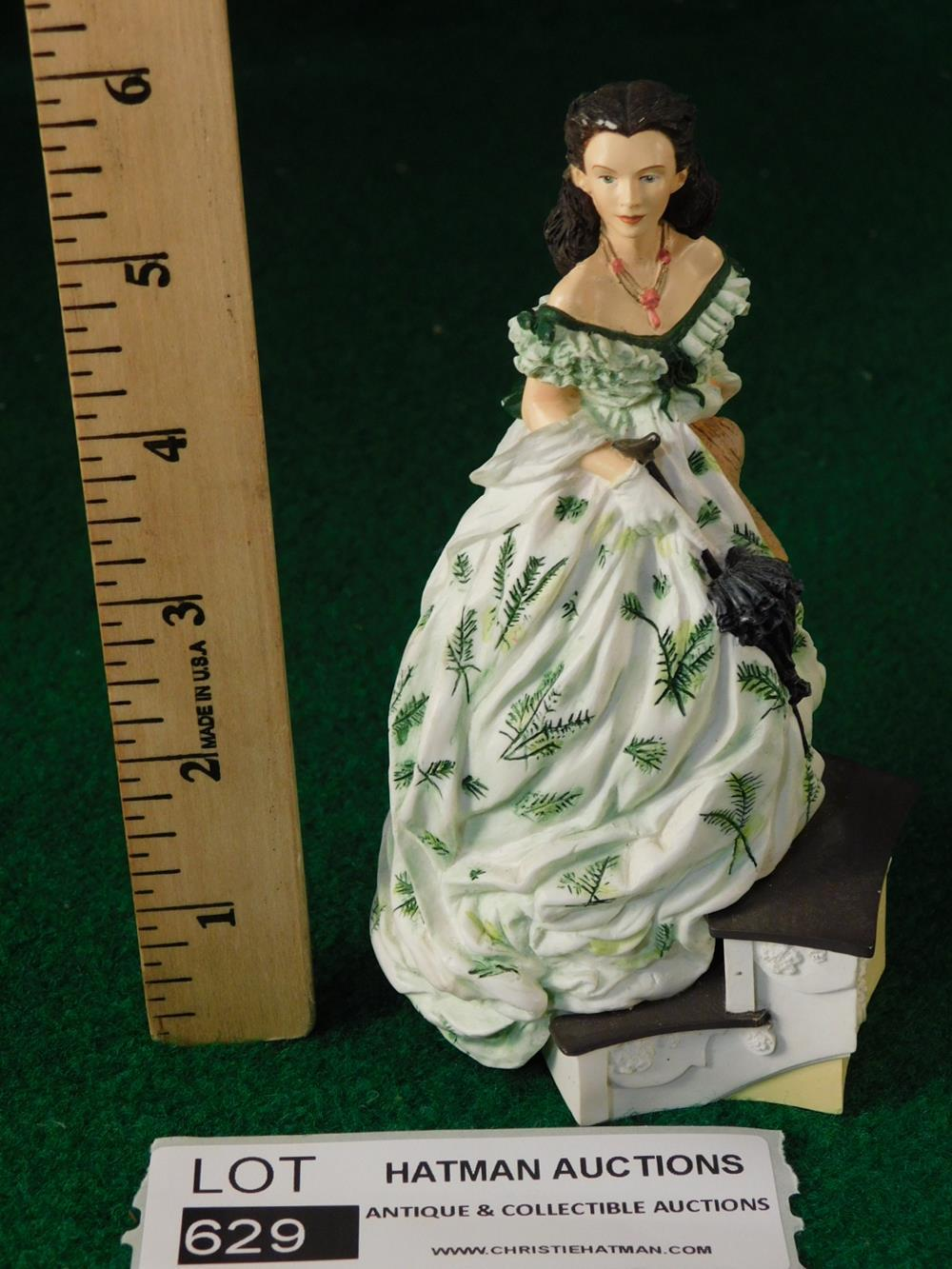 GONE WITH THE WIND FIGURINE ANTIQUES AND COLLECTIBLES