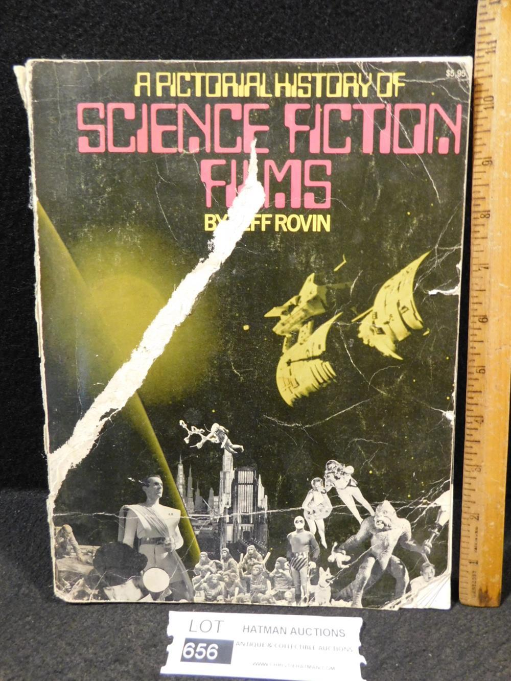 A PICTORIAL HISTORY OF SCIENCE FICTION FILMS BOOK ANTIQUES AND COLLECTIBLES