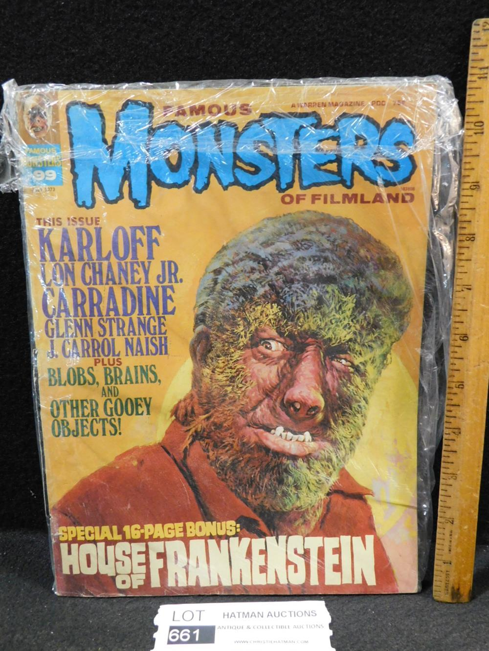 THE FAMOUS MONSTERS OF FILMLAND MAGAZINE