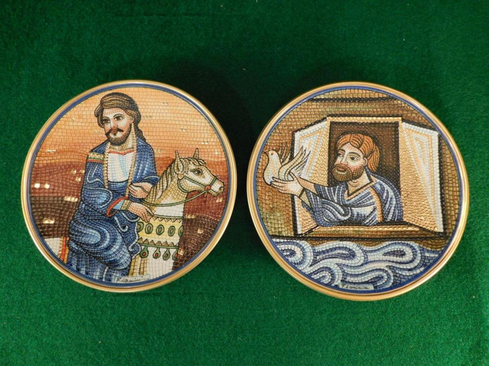 VENTO FLAIR PLATES ANTIQUES AND COLLECTIBLES