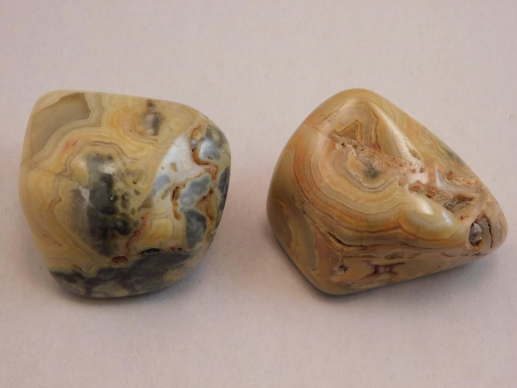 CRAZY LACE AGATE POLISHED
