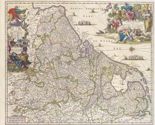 Carel Allard (Dutch, 1648-1709)/Johann Baptist Homann (German, 1664-1724)