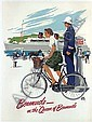 Bermuda- On the  Queen of Bermuda, Adolph Treidler, Click for value