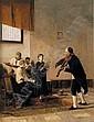 MOSE BIANCHI(Footnote 1) (ITALIAN, 1840-1904) La Vigilia della sagra (Una Lezione di canto corale), Mose Bianchi, Click for value