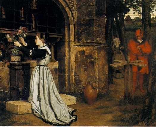VICTOR LAGYE(Footnote 1) (BELGIAN, 1825-1896) Faust and Marguerite
