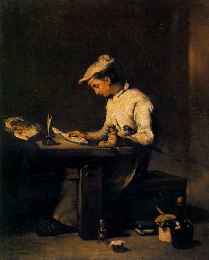 THEODULE AUGUSTIN RIBOT (FRENCH, 1823-1891) The Young Cook