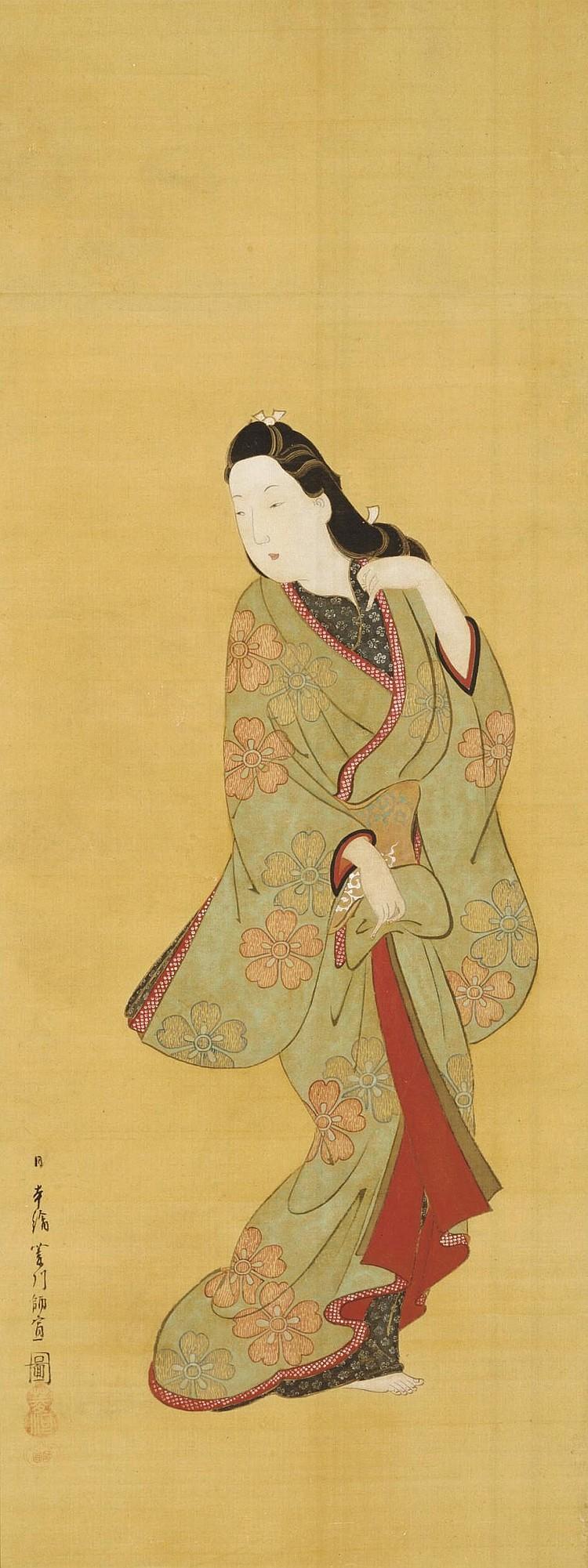 Hishikawa Moronobu (1630/31?-1694)