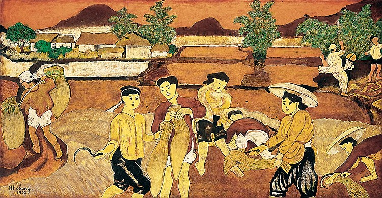 NGUYEN TIEN CHUNG  (Vietnam 1914-1976)
