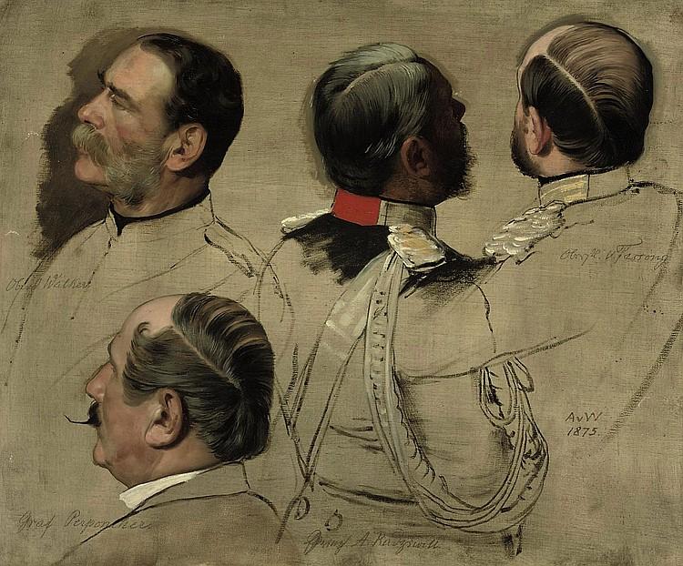 Anton Alexander von Werner (Frankfurt an der Oder 1843-1915 Berlin)