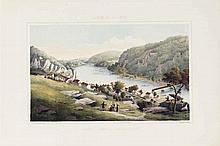 BEYER, Edward (1820-1865).Album of Virginia. [Richmond:] W. Loeillot in Berlin and Rau & Son in Dresden for Beyer, [1857]-1858.