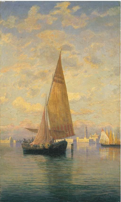 Federico Nerly (Italia 1824-1919)