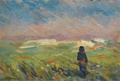 Attribuito a Mario Puccini (Italia 1869-1920)