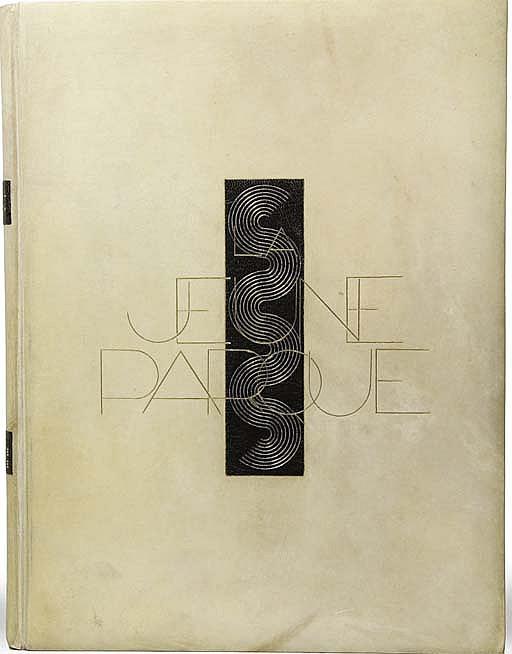 [DARAGNÈS] -- VALÉRY, Paul (1871-1945). La Jeune Parque. Édition ornée de dessins gravés sur cuivre par Daragnès . Paris: Émile-Paul frères, 1925.