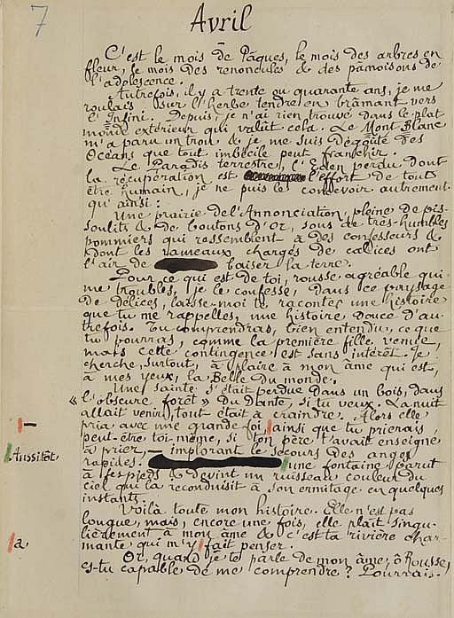 [BLOY] -- GRASSET, Eugène (1841-1917).  Les Mois.  Paris: G. de Malherbe, imprimeur éditeur, s.d. [1896].