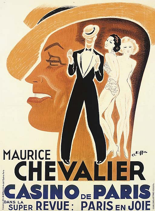 MAURICE CHEVALIER, CASINO DE PARIS