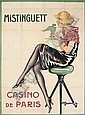 MISTINGUETT, CASINO DE PARIS, Charles Gesmar, Click for value