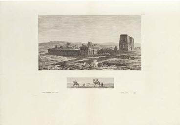 DENON, Baron Dominique Vivant (1747-1825). Voyage dans la Basse et la Haute Egypte, pendant les campagnes du g'n'ral Bonaparte. Paris: P. Didot l'ain', 1802.