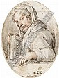 Jan van der Straet, called Giovanni Stradanus (Antwerp 1523-1603), Joannes Stradanus, Click for value