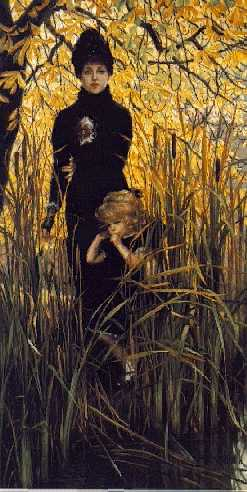 JAMES JACQUES JOSEPH TISSOT (FRENCH, 1836-1902) L'Orpheline (Orphan)