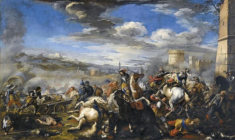 Jacques Courtois, il Borgognone (Saint-Hyppolite 1621-1676 Rome)