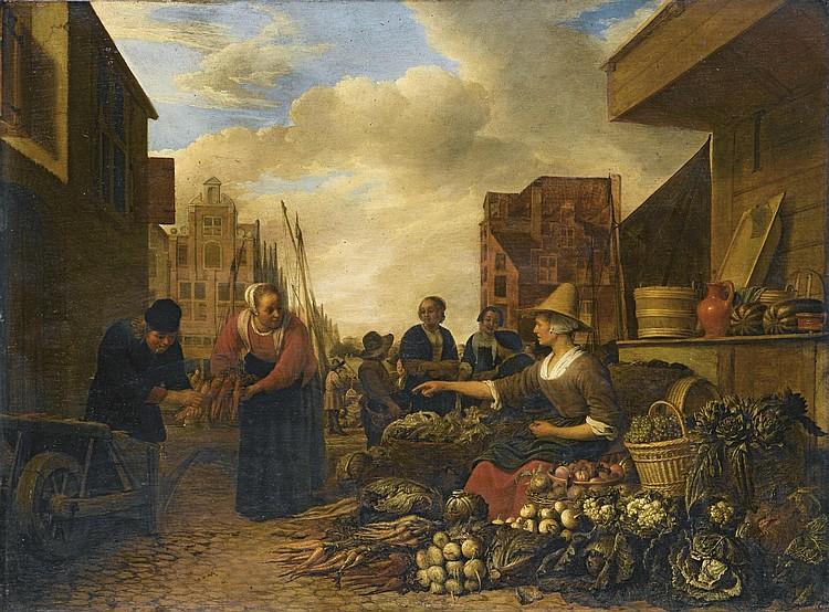 Hendrick Martensz. Sorgh (Rotterdam 1609/11-1670)
