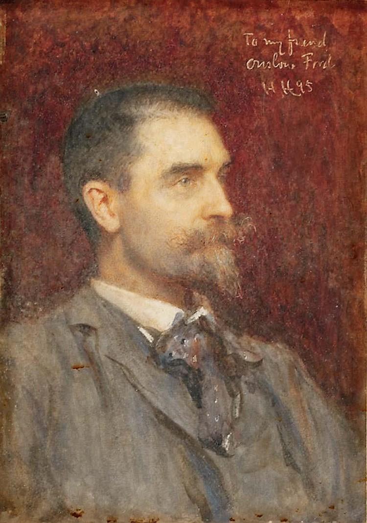 SIR HUBERT VON HERKOMER, R.A., R.W.S. (BRITISH, 1849-1914)