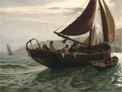 Charles Napier Hemy, R.A., R.W.S. (1841-1917)