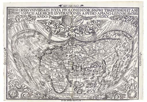 <B>WORLD - APIAN PETER (1495-1552)</B>