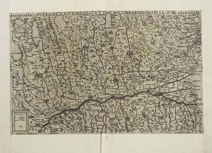<B>LOMBARDY - CAMOCIO, GIOVANNI FRANCESCO (<I>fl.</I>1558-<I>c.</I>1575).</B> <I>La Vera