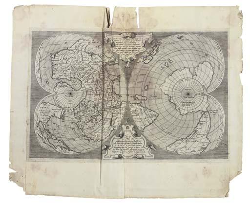 <B>WORLD - SALAMANCA, ANTONIO (<I>c.</I>1500-1562).</B>