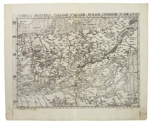 <B>CENTRAL EUROPE - SALAMANCA, ANTONIO (<I>c.</I>1500-1562).</B>