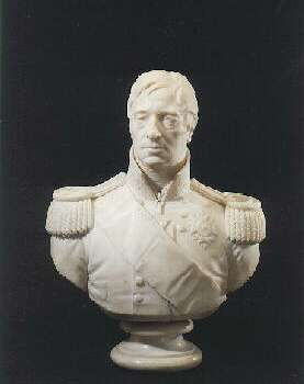 EDWARD HODGES BAILY (BRITISH, 1788-1867) `SIR ROBERT O'CALLAGHAN, A MARBLE BUST OF A GENTLEMAN