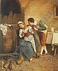 DAVID SANI (ITALIAN, 19TH CENTURY) COURTSHIP