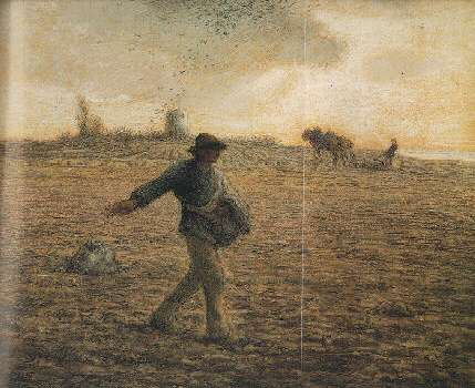 JEAN FRANCOIS MILLET (FRENCH, 1814-1875) THE SOWER (LE SEMEUR)