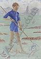 Le petit pêcheur, Augustin Rouart, Click for value