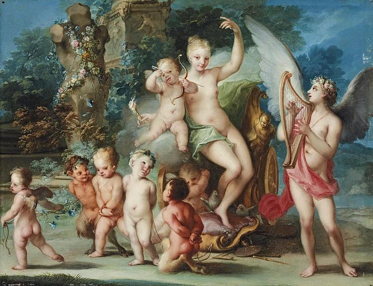 Ignaz Stern (Mauerkirchen Bavaria 1679-1748 Rome)