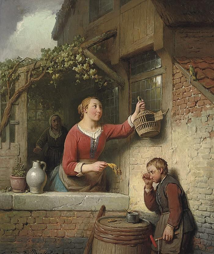 Ferdinand De Braekeleer (1792-1883)