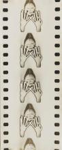 MAURICE TABARD (1897-1984) Masque Punu (essai pour le film Culte Vaudou), 1