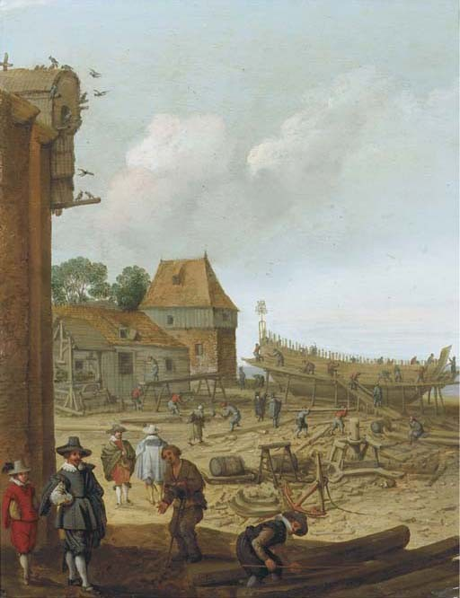 Adam Willaerts (Antwerpen 1577-1644 Utrecht)