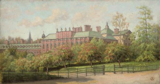 Kensington Palace in May