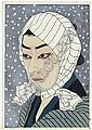 Ichimura Uzaemon XV (1874-1945) as Iriya no Naoji; Kataoka Naojiro, in the play Kumo ni magou Ueno no hatsuhara , 1925 Onoe Matsusuke IV (1843-1928) as Inga monoshi Kohei, in the play Imashimegusa susuki no nozarashi , 1925 Nakamura Senjaku (b., Shunsen Natori, Click for value