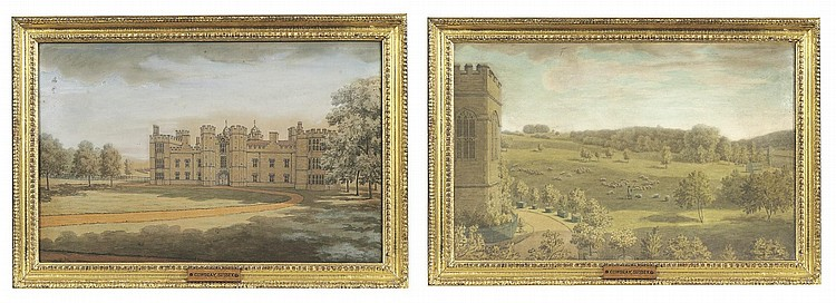 Attributed to Coplestone Warre Bampfylde (1720-1791)