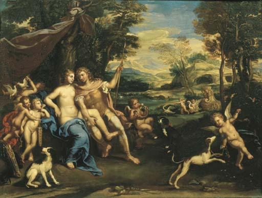 Cerchia di Domenico Zampieri, il Domenichino (Bologna 1581-1641 Napoli)
